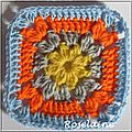 Granny square by simply crochet #7