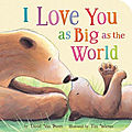 I love you as big as the world 1