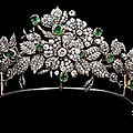 Mellerio floral tiara of the leuchtenberg family