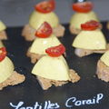 Mini Terrines de Lentilles Corail au Curry