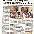 Communiqué de presse de la provence du 23 septembre 2014