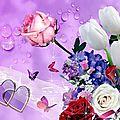 Je voudrais être fleur