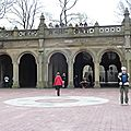 DAY 1 - Central Park - The Mall (Bethesda Fountain)