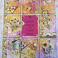 Plp 24 thème fleurs et papillons ( envoyé )