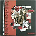 2 pages pour illustrer la collection On Stage de <b>KaiserCraft</b>, par Paméla