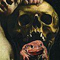 Le necronomicon, lecture macabre et guitare d'outre tombe