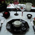 Table duo d'amour...st valentin