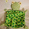 ~ doudou mini-grenouille ~