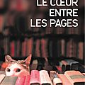 Le coeur entre les pages, shelly king, 2014