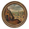 Abel <b>Grimmer</b> (vers 1570-avant 1619), Cinq mois : février, mars, avril, octobre et décembre