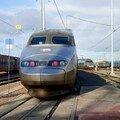 TGV au dépôt