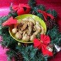 Dinde de Noël au curry et aux fruits