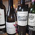 Espagne : Camins del Priorat 2017, Petalos del Bierzo 2017, Rioja : Vina Tondonia 2005