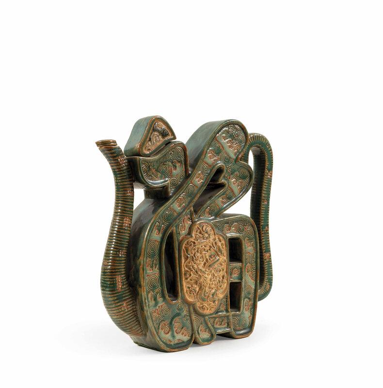 Grande théière en grès, Biên Hoà, XXe siècle