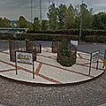 Rond-point à Roncadelle (Italie)