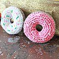 Donuts crochet - Bricolage Magique