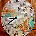 Une horloge pour mon aventurier...