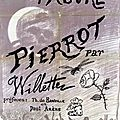 Alphonse Willette dit Pierrot