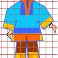 modèle poncho garçon 7 ans