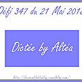 Défi 347 du 21 mai 2018 - aperçu de ciléa, scrapacrolles, batchaka et fannyseb notre seconde invitée d'honneur