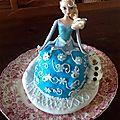 Gâteau reine des neiges / frozen cake