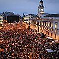 Espagne : un an après, les indignés par milliers dans les rues