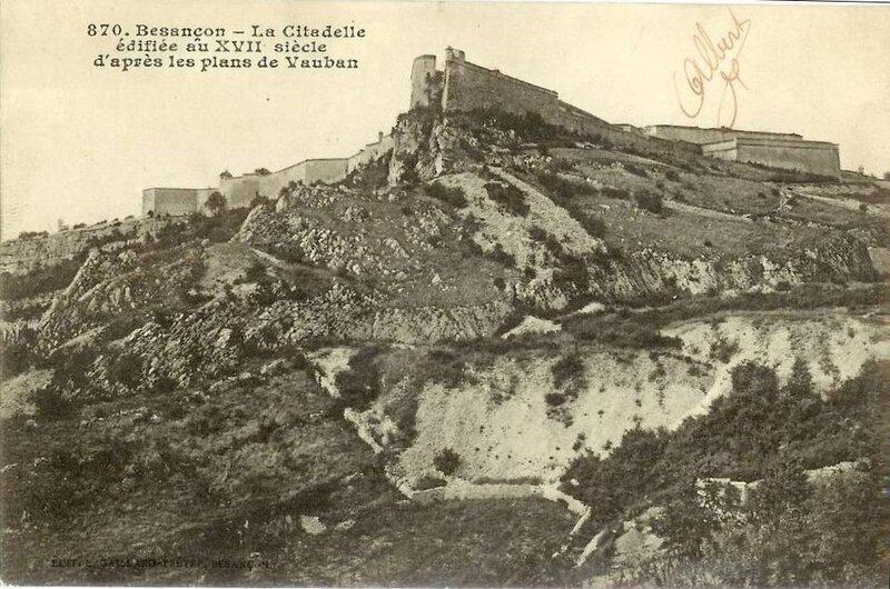 CPA citadelle de Besançon_1