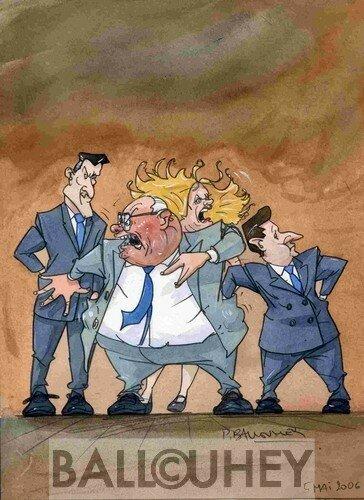 Mai 2006 : Pour ratisser facho, ils font les poches à Le Pen.