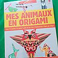 Mes animaux en origami de chez usborne