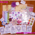 Un an déjà - jenni's scrap blog candy