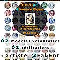 RETOUR de l'EXPO « SEINS SOLIDAIRES » aux PORTES OUVERTES de la FERME de PEGASE à REZONVILLE