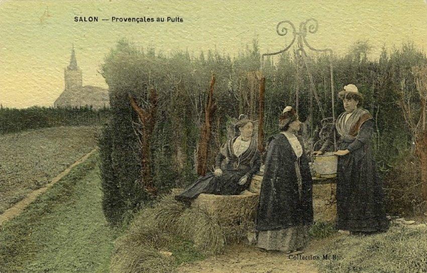 Provençales au puits