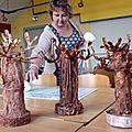 Stage fcb:powertex,baobab et statue