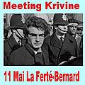 11 mai 2018, La <b>Ferté</b>-<b>Bernard</b>, 60 personnes pour AK !