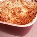 <b>Gratin</b> de <b>pâtes</b> facile et rapide selon Cyril Lignac
