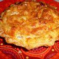 Mini-tarte poireaux / chèvre / lardons
