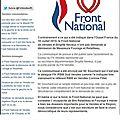 Fn -front national de vendée n'a pas demandé la démission de messieurs fourage et retailleau
