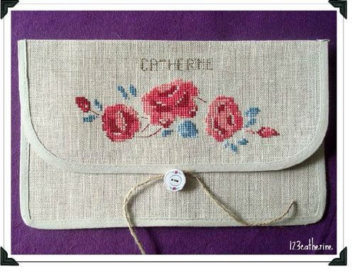 Pochette Courcelles 1 2 3 Catherine