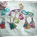 Diy porte-clefs licorne - unicorn