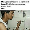 .. couper l'eau