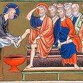 Jeudi saint: allez vous faire laver les pieds!