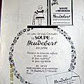 HEUDEBERT SOUPE <b>PYL</b> 1928 PUBLICITE ANCIENNE AL 8