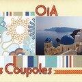 Iles grecques (35) les coupoles d'Oia