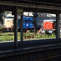 Shinagawa-Tamachi, JR 285 Sunrise Express, 24 Fuji-Hayabusa & DD 51 locomotive
