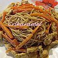 Curry de dinde aux carottes