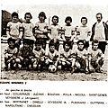 Cm floirac saison 1975/76 équipe minimes 2