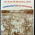 Exposition Guerre 14/18 à Thizy les Bourgs