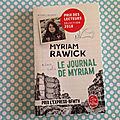 Le journal de Myriam, Myriam Rawick