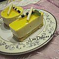 Bavarois au citron