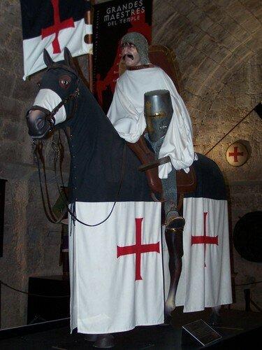 Ségovie-clin d'oeil armure chevalier Templier